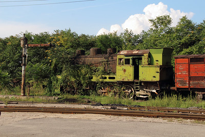 2) steam at Sofia Depot on 13th September 2014