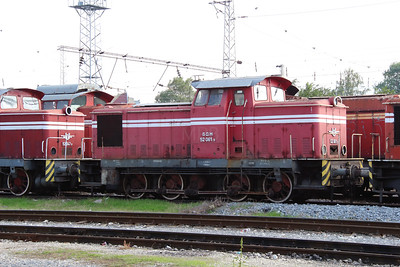 52 061 at Sofia Depot on 13th September 2014