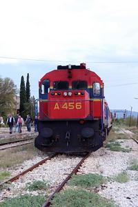 A456 at Strimon on 17th September 2014 working railtour (1)