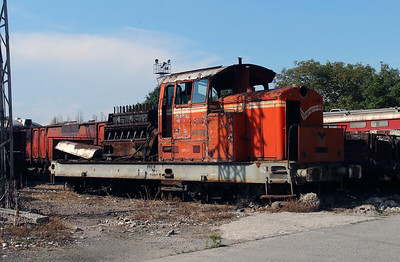55 006 at Sofia Depot on 13th September 2014 (1)