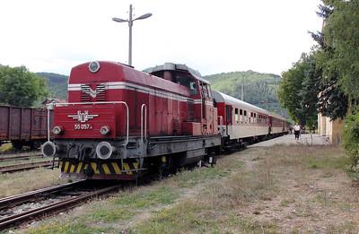 1) 55 057 at Gyueshevo on 2nd October 2011