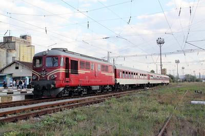 3) 06 060 at Radomir on 2nd October 2011 working railtour