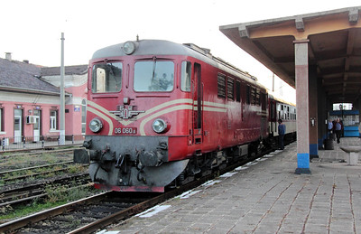 1) 06 060 at Pernik Razpredelitelna on 2nd October 2011 working railtour