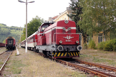 2) 55 057 at Gyueshevo on 2nd October 2011
