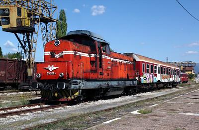 3) 55 206 at Kyustendil on 2nd October 2011