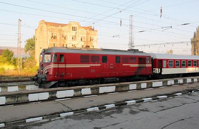 2) 06 060 at Radomir on 2nd October 2011 working railtour