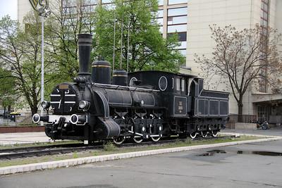 steam, 125 052 at Zagreb Glavni Kolodvor on 6th April 2014