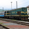 661 322 at Bihac on 12th April 2014 working railtour (1)