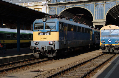 431 083 (91 55 0431 083-9 H-START) at Budapest Keleti on 3rd July 2015