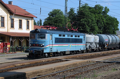 MVA  242 256 (91 54 7242 256-6 CZ-MVA) at Rakospalota Ujpest on 3rd July 2015 (2)