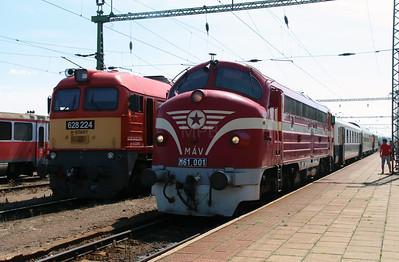M61 001 at Kazincbarcika on 6th July 2015