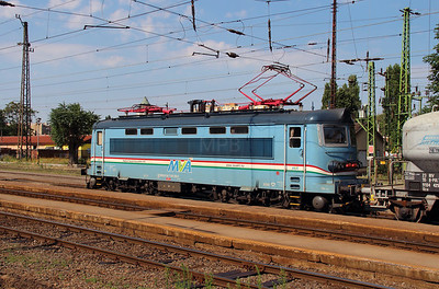 MVA  242 256 (91 54 7242 256-6 CZ-MVA) at Rakospalota Ujpest on 3rd July 2015 (3)
