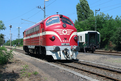 M61 001 at Vacratot on 3rd July 2015 working PTG Railtour (4)