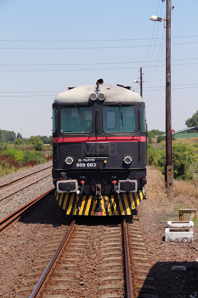 FLOYD,  609 003 (92 55 0609 003-2 H-FLOYD) near Szolnok Deli Ipartelepi Rendezo Yard on 5th July 2015 working PTG Railtour