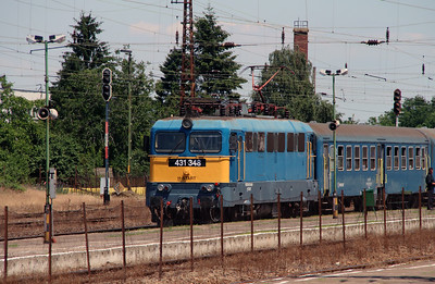 431 348 (91 55 0431 348-6 H-START) at Fuzesabony on 3rd July 2015