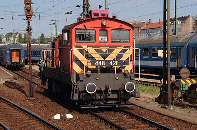 448 428 at Budapest Keleti on 3rd July 2015