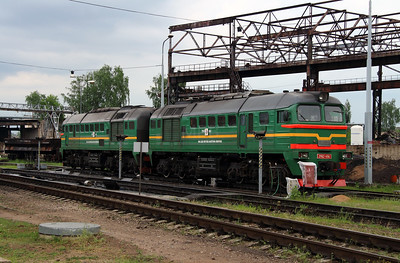 2M62 1194 at Daugavpils Depot (Latvia) on 20th May 2013