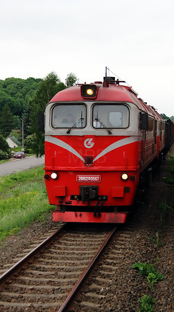 2) 2M62 0567 outside Kaunas on 25th May 2013
