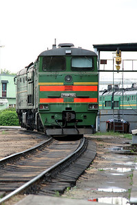 2TE10M 3569 at Daugavpils Depot on 20th May 2013 (1)