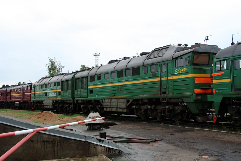 2TE116 1679 at Daugavpils Depot on 20th May 2013