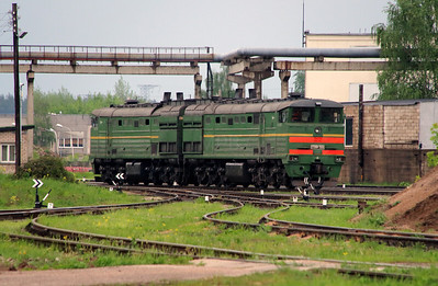 2TE10M 3569 at Daugavpils Depot on 20th May 2013