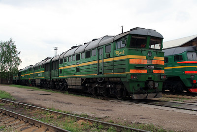 2TE116 1060 at Daugavpils Depot on 20th May 2013 (2)