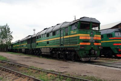 2TE116 1060 at Daugavpils Depot on 20th May 2013 (2)