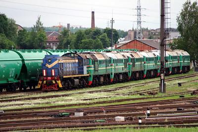 1) TEM2 2719 at Kaunas on 25th May 2013