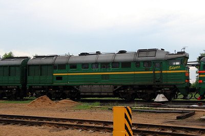 2TE116 1679 at Daugavpils Depot on 20th May 2013 (1)