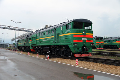 2TE10U 0220B at Daugavpils Depot on 20th May 2013 (2)
