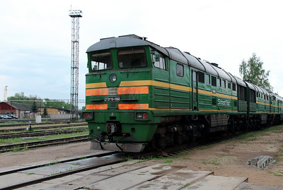 2TE116 1060 at Daugavpils Depot on 20th May 2013