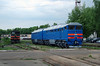 1) 2TE116 933 at Daugavpils Works (Latvia) on 20th May 2013