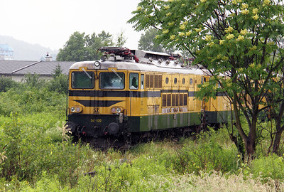 342 020 at Lubljana Depot on 20th June 2010