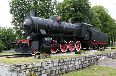 steam, 740 121 at Postojna on 20th June 2010 (3)