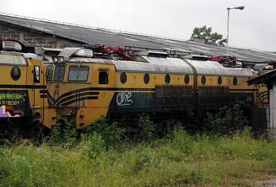 362 037 at Lubljana Depot on 20th June 2010
