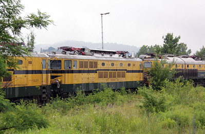 342 030 at Lubljana Depot on 20th June 2010