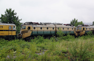 362 021 at Lubljana Depot on 20th June 2010