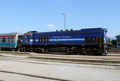 HZ, 2062 049 (98 78 2062 049-8) at Zabok on 20th April 2015 working railtour (6)