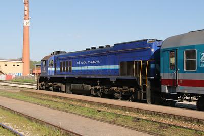 HZ, 2062 049 (98 78 2062 049-8) at Zabok on 20th April 2015 working railtour (12)