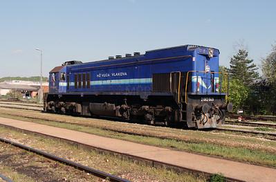 HZ, 2062 049 (98 78 2062 049-8) at Zabok on 20th April 2015 working railtour (8)