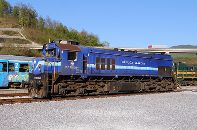 HZ, 2062 049 (98 78 2062 049-8) at Durmanec on 20th April 2015 working railtour (8)