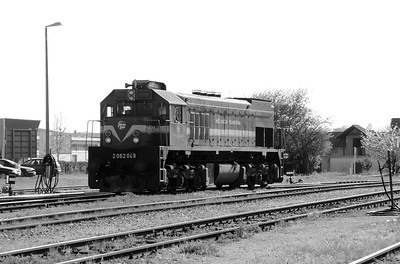 HZ, 2062 049 (98 78 2062 049-8) at Zabok on 20th April 2015 working railtour (9)