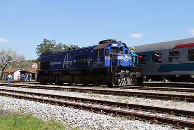 HZ, 2062 024 (98 78 2062 024-1) at Lendava on 20th April 2015 working railtour (9)