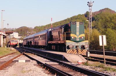 644 014 (94 79 2644 014-4) at Rogatec on 20th April 2015 working railtour (13)