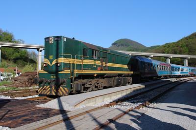 644 014 (94 79 2644 014-4) at Durmanec on 20th April 2015 working railtour (9)