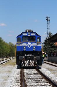 HZ, 2062 024 (98 78 2062 024-1) at Lendava on 20th April 2015 working railtour (17)