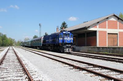 HZ, 2062 024 (98 78 2062 024-1) at Lendava on 20th April 2015 working railtour (14)