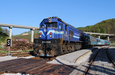 HZ, 2062 049 (98 78 2062 049-8) at Durmanec on 20th April 2015 working railtour (2)