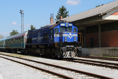 HZ, 2062 024 (98 78 2062 024-1) at Lendava on 20th April 2015 working railtour (11)