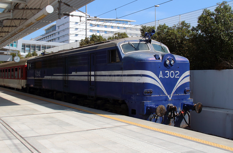 A302 at Athens International Airport on 7th October 2015 working PTG Railtour (17)